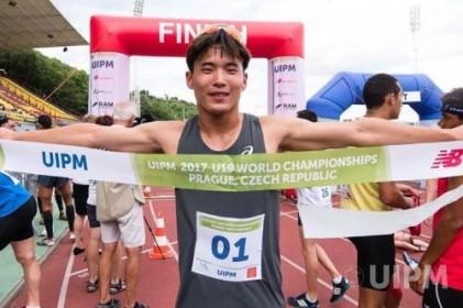 김우철, 근대5종 미래 밝히다… 한국, 유소년세계선수권 개인·단체전 석권