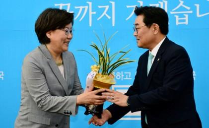 이혜훈 '보수의 본진' 기치 첫 공식행보