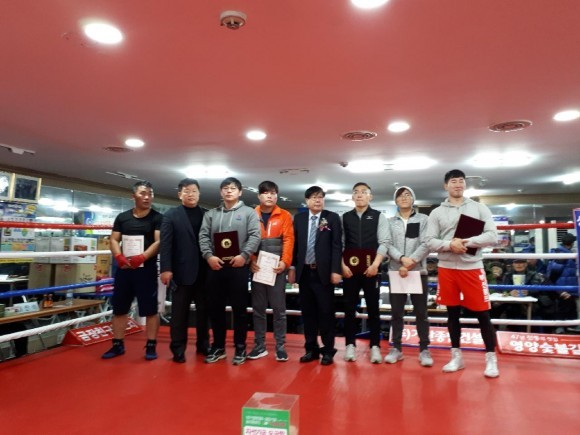KBA 영·호남근로자 복싱대회, 변재웅 선수 '최우수상' 수상