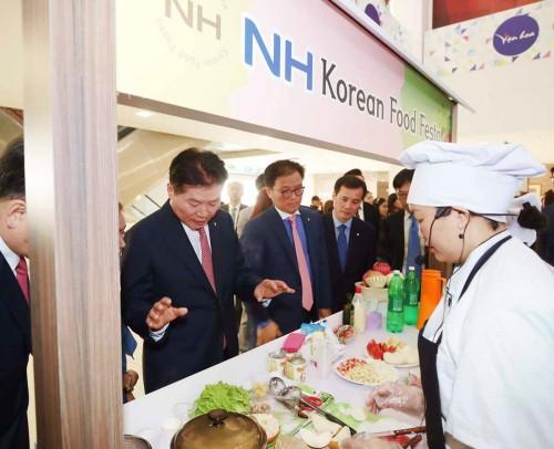 농협, 베트남서 'NH Korean Food Festa' 개최