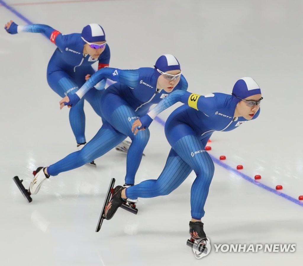 팀추월 기자회견 '5시 30분'…김보름 인터뷰 논란 해명하나