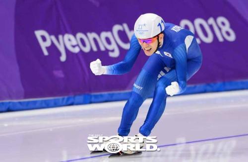 해냈다 이승훈, 올림픽 남자 매스스타트 초대 챔피언 등극