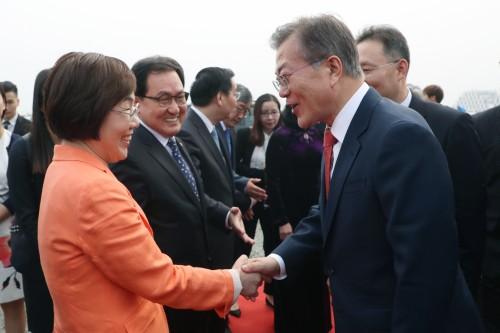 이미경 코이카 이사장, 베트남 장애청년기업 격려 방문