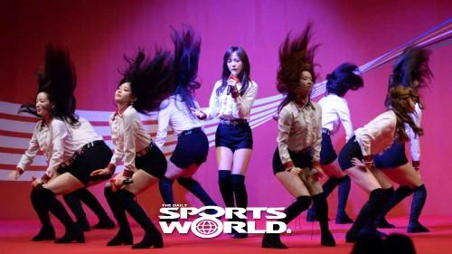 구구단,'코카콜라 체육대상' 축하해요
