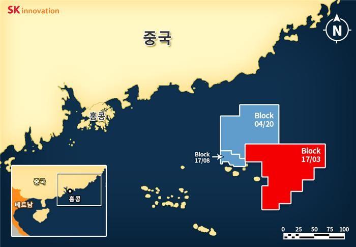 SK이노, 남중국해에서 원유 탐사 성공