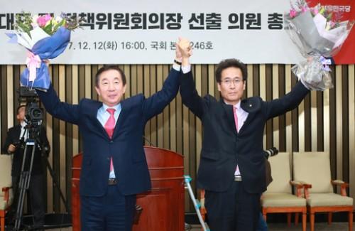 """""""강한 야당"""" 친홍·복당파 주류로…대여 강경투쟁 예고"""