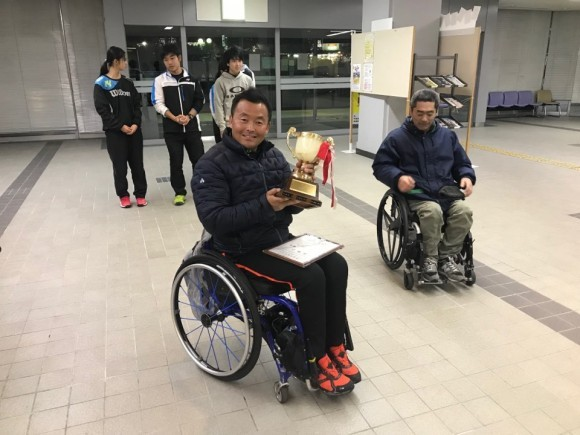 달성군청 휠체어테니스, 국제대회 2관왕