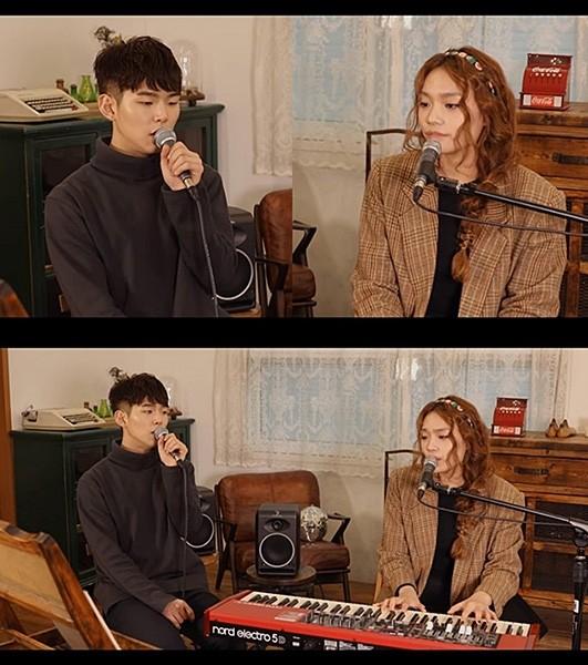 폴킴X이진아, 합동 콘서트 앞두고 즉흥 콜라보 라이브 영상 공개