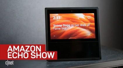 아마존 에코 쇼 '영상통화도 좋지만…한글은 언제쯤?'
