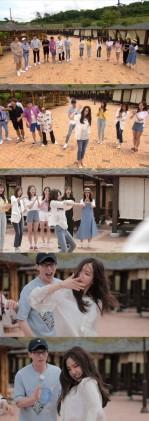 '런닝맨' 손나은, '뉴 페이스' 파격 코믹 댄스 촬영장 초토화