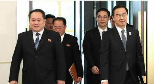 """靑 """"29일 판문점 통일각서 남북 고위급회담 열자"""" 北에 제안"""