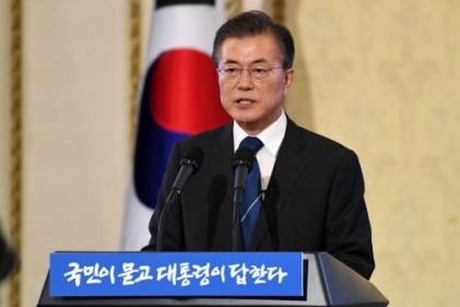 """文대통령 """"적폐청산, 1∼2년에 안돼…임기 내내 계속"""""""