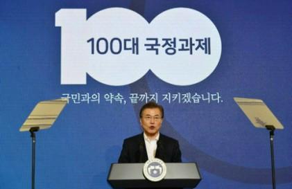 """""""文대통령 지지율 72.4%로 반등… 민주 50%대 회복"""""""