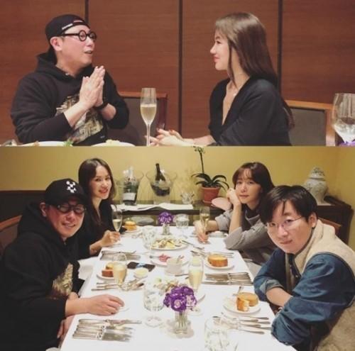 김이나 작사가, 윤종신·엄정화와 함께 한 일상 '재조명'…가요계 절친 모임?