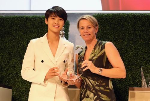 박성현, LPGA 신인상 정식으로 수상