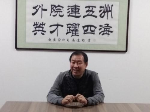 """쉬용빈 대외경제무역대학 외국어학장 """"한국과 중국은 이익공동체"""""""