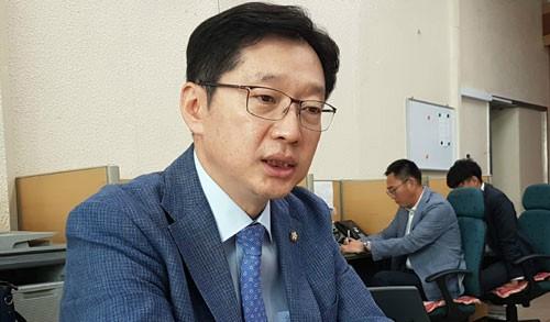 """김경수 의원 """"정진석, 법적 대응 준비해라… 어떤 타협도 없을 것"""""""