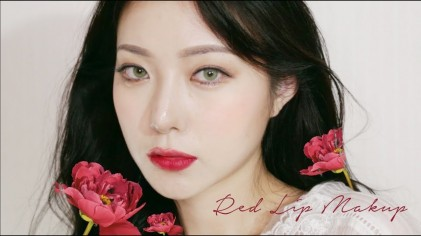 all 에스쁘아! 백설공주의 발칙한 레드립 Snow White Makeup With espior ♡ Coco Riley 코코 라일리