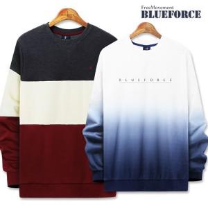 봄신상 맨투맨티/남성커플단가라남자옷단체티셔츠