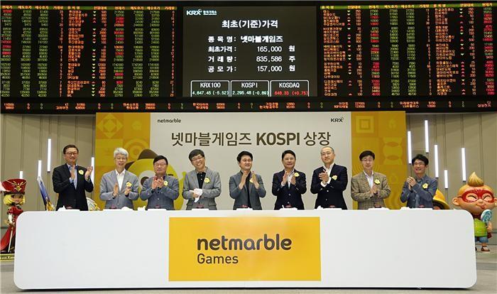 코스피200 비율 변경…넷마블게임즈 기관 수요 확대 전망