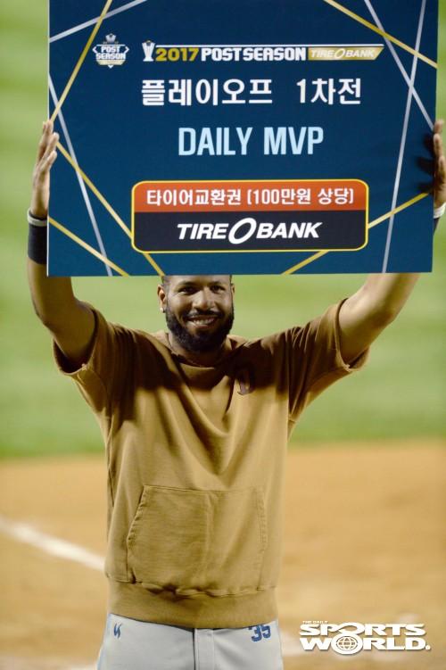 NC 스크럭스, 플레이오프 1차전 MVP