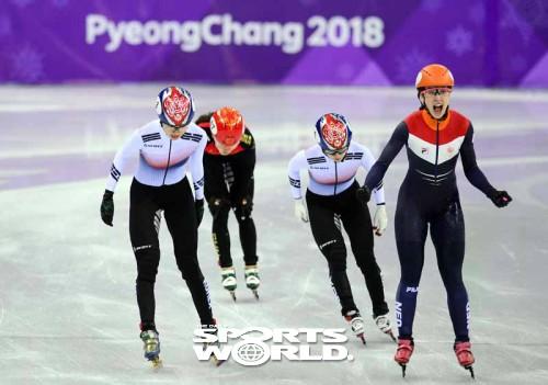 여자쇼트트랙 1000m, 심석희-최민정 결승진출