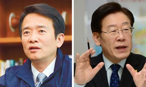 남경필·이재명 신경전 가속… 벌써 경기지사 선거전하나
