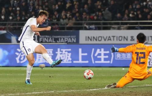 한국축구 숙적 일본에 완승 거두고 동아시안컵 우승