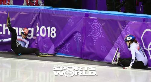 '골든 데이'는 없었다, 쇼트트랙 노골드 충격…한국 목표 달성도 빨간불