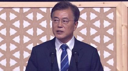 文 대통령, 평창동계올림픽 남북단일팀 제안