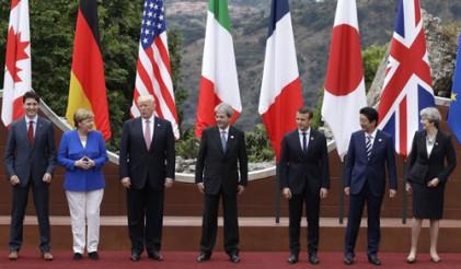 '마이웨이'트럼프에 G7 정상회의 역대 최악 분열