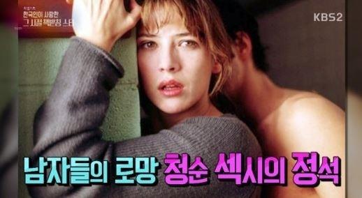 소피 마르소, 한국인이 사랑한