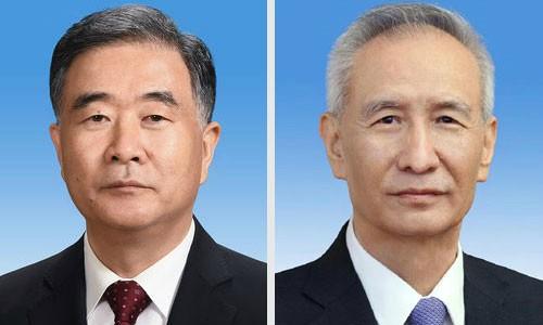'시진핑 동창' 류허 부총리에… 왕양, 정협 주석 내정된 듯