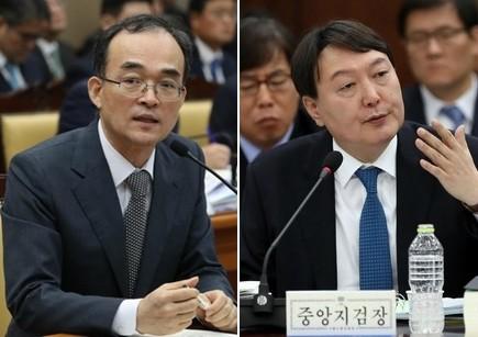 윤석열, 'MB 조사결과' 檢총장에 보고…문무일, 영장청구 고민 중