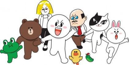 라인, 일본 캐릭터 사업 물적분할…