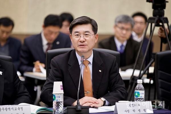 박성철 한전KDN 사장, 빛가람협의회장 선임