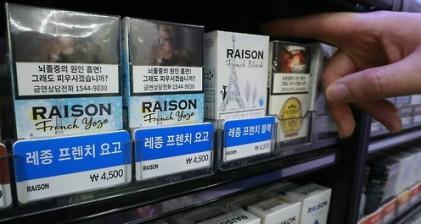 자유한국당 담뱃값 인하 추진…문 정부에 세수감소?