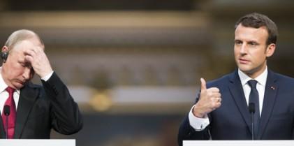 트럼프 이어 푸틴도… 마크롱은 '스트롱맨 전문가'?