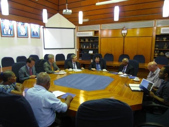 한동대 장순흥 총장, 파푸아뉴기니 국립대학 등과 교류 협력 방안 논의