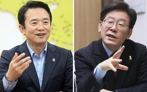 """'광역서울도'vs'세방화'…남경필 """"경기도 포기"""" 발언에 이재명 맞불"""