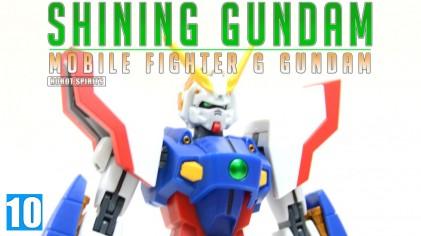 반다이 로봇혼 샤이닝 건담 / ROBOT SPIRITS Shining Gundam