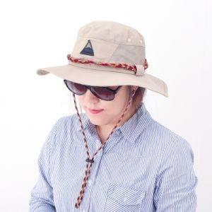 아웃도어 에스닉 등산 모자(베이지) 패션모자 캠핑모