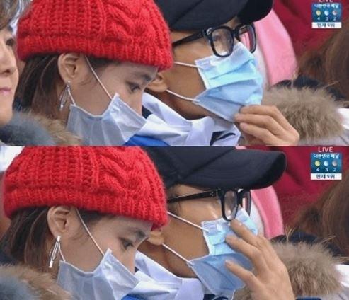 이병헌♥이민정 쇼트트랙 경기장 데이트 '시선강탈'