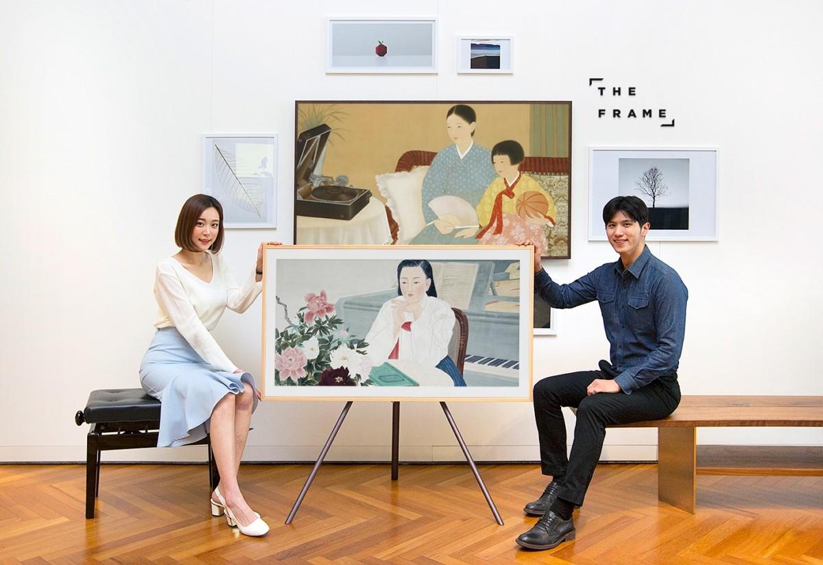 삼성 프리미엄TV '더 프레임' 국립현대미술관 작품 공개