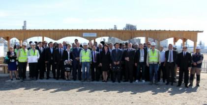 현대엔지니어링, 글로벌 화학기업 임직원들 화공플랜트 건설현장 방문