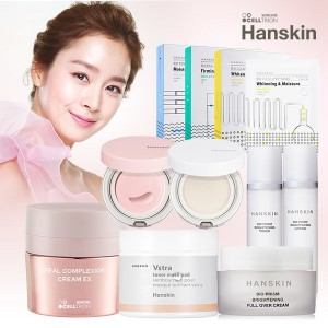 한스킨 핑크톤업크림+핑크물밤/기초~75%
