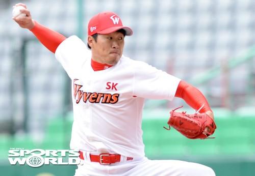 SK 김주한의 역투