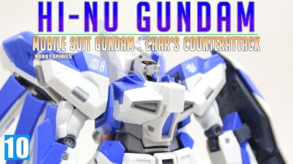 반다이 로봇혼 하이 뉴 건담 / ROBOT SPIRITS Hi-Nu Gundam