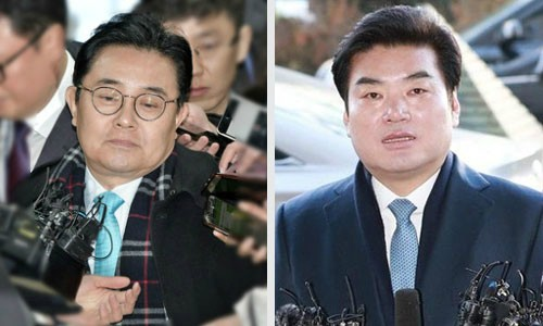 檢 '뇌물수수' 혐의 전병헌·원유철 기소