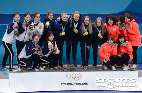 한국여자컬링,'대단한 은메달'